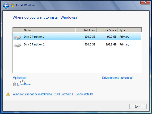 Install Windows 7 from USB or DVD Step By Step 31 - Windows 7 Format Atma | Resimli Kolay Kurulum
