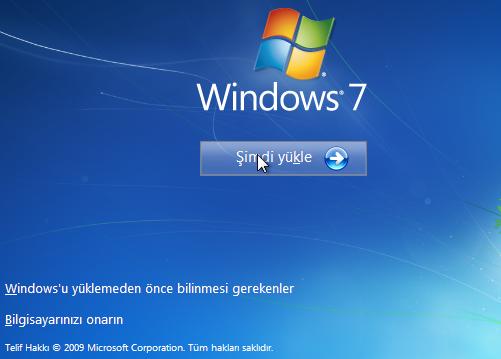 IMG 9499 - Windows 7 Format Atma | Resimli Kolay Kurulum