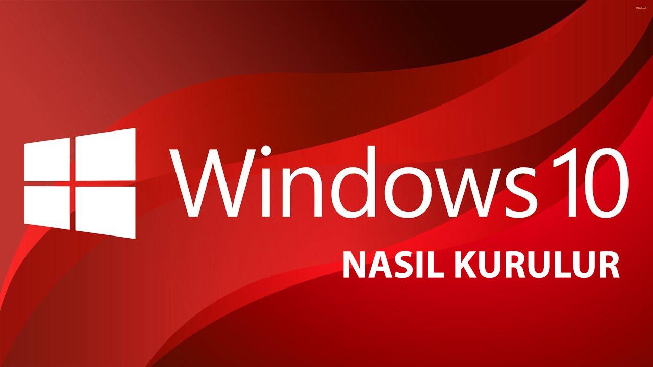 windows 10 format atma resimli anlatım