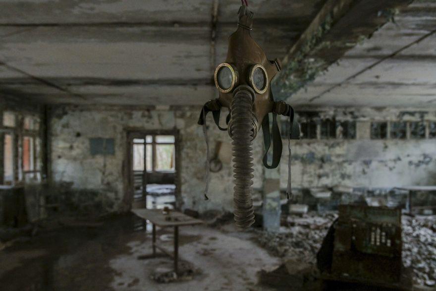 Maschere antigas 3 5ca8e352009b0  880 - Faciadan 33 Yıl Sonra Çernobil'den Fotoğraflar