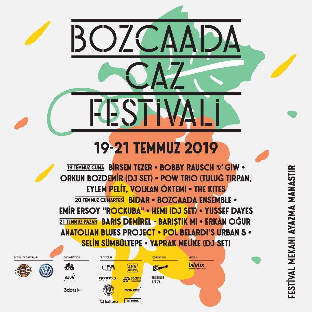Bozcaada Caz Festivali 2019
