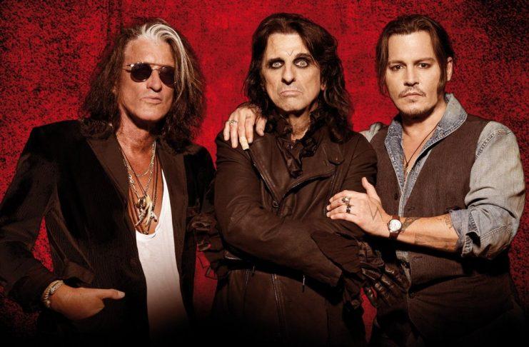 Johnny Depp Hollywood Vampires konseri