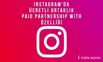 instagram ücretli ortaklık
